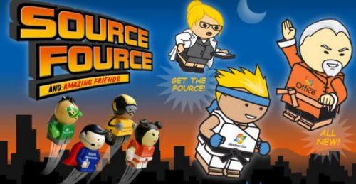 Microsoft's Source Fource action figures