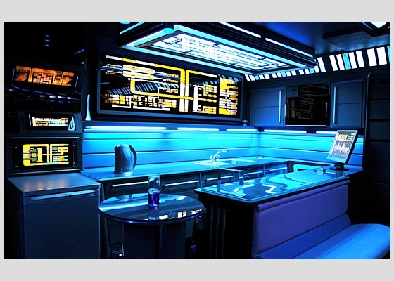 Star Trek Voyager Apartment - Kitchen