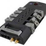 New Tributaries power strip has rotating outlets