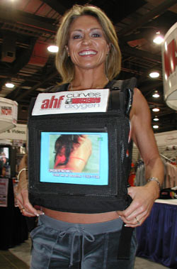 Video vests turn you into a TV