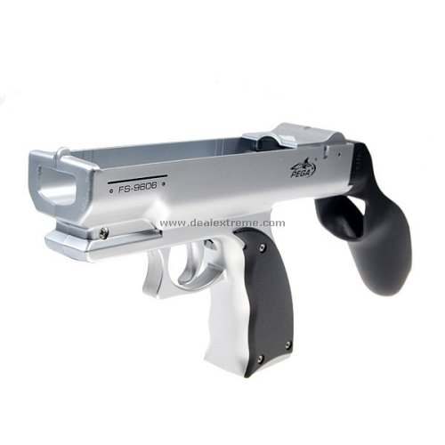 Metallic Nintendo Wii Machine Gun