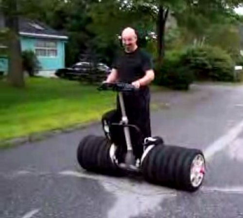 Custom Segway 6-wheeler