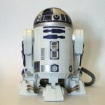 Geeks love robots: R2-D2 home telephone