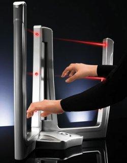 Beamz: Laser beam music system