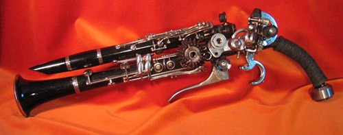 Clarinet gun mod for musicians gone postal