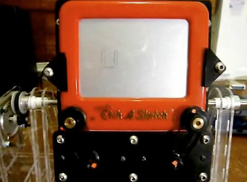 World's first Etch-a-Sketch clock