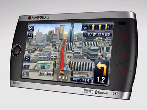 Thinkware iNAVI K2 GPS looks like a game
