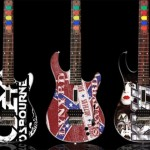 Guitar Hero custom wood guitars