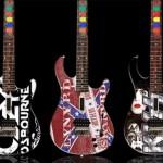 Guitar Hero custom wood guitars