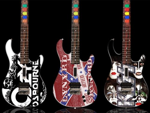 Here's your chance to get a beautifully handpainted guitar worthy of a real