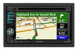 Kenwood In-dash Powered by Garmin