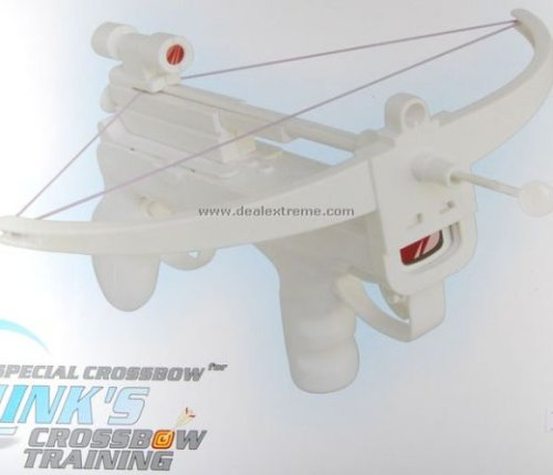 Wii Crossbow with laser sight &#038; ping pong ball tip