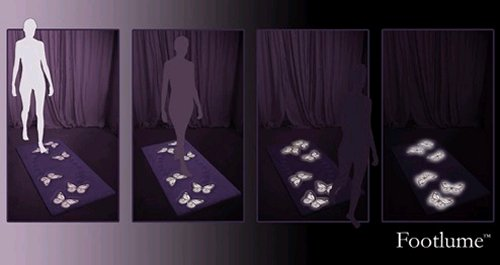 FootLume glowing rug: No more stubbed toes