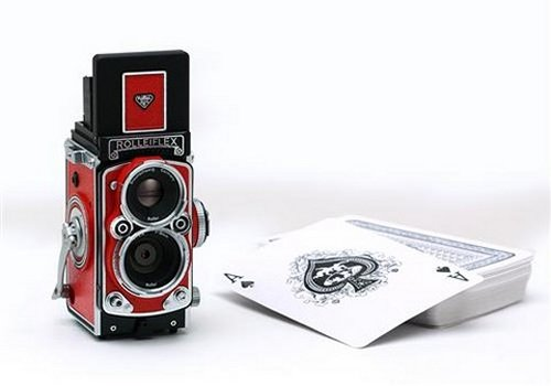 Old meets new: Rolleiflex Digital Camera