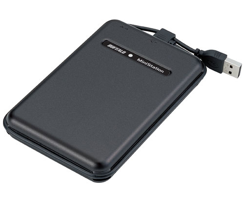 Buffalo Technology adds 500GB portable hard drive ...