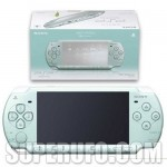 Mint green PSP available in Japan