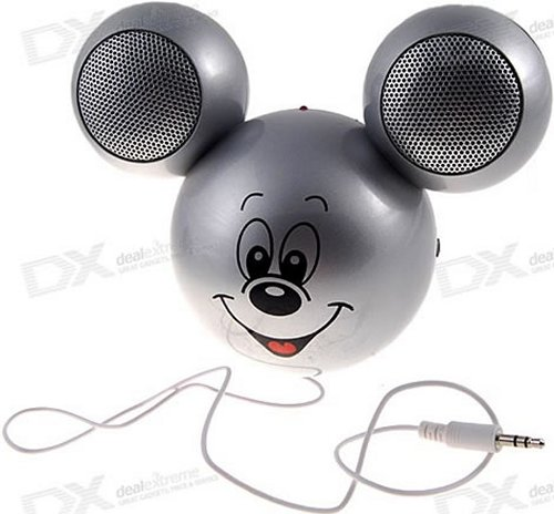 Mickey Mouse speaker is all ears