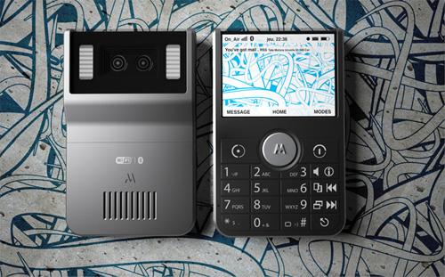 New Motorola concept phone