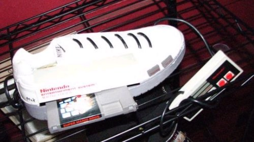 The NES sneaker