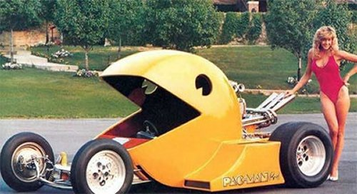 The Pac-Man car