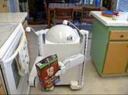 The kitchen cleaning Readybot Robot