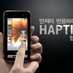 Samsung AnyCall Haptic with 22 types of touch