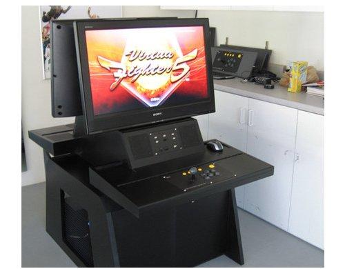 DIY Sega arcade cabinet