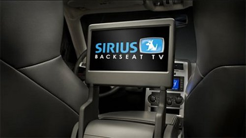 Sirius Backseat TV system ships