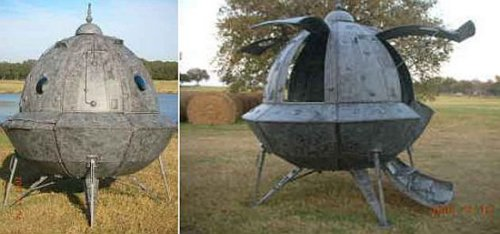 Your own home-made spacecraft for $3500
