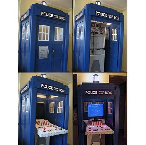 Tardis cabinet: For gaming, not time traveling