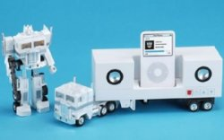 Optimus Prime Transformers iPod dock