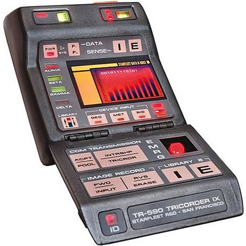 Star Trek Tricorder replica won't get you girls