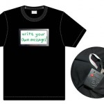 T-Sketch: The T-Shirt with a message
