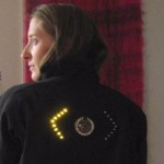 Turn signal jacket for cyclists
