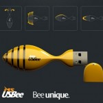 USBee flash drive creates a buzz