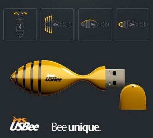USBee flash drive creates a buzz