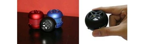 Wireless X-mini capsule speakers from XM-I.
