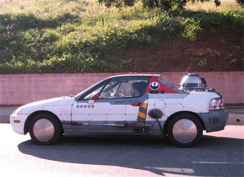 The X-Wing…car