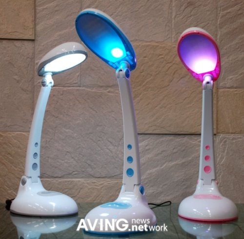 Senslux LED desk lamps fight acne with style