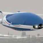 Aeroscraft Aeros ML866 looks like a flying whale