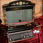 Victorian all-in-one Steampunk PC