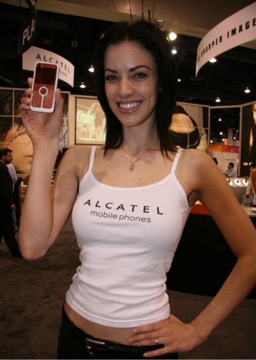 Alcatel OT-V770A Playboy cell phone