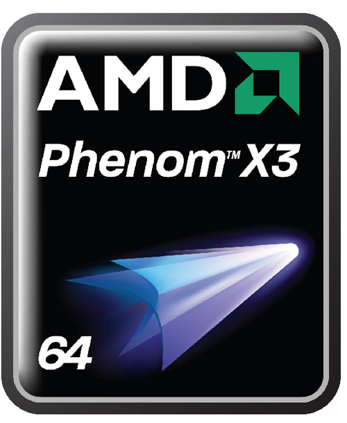 AMD Phenom X3 CPU Logo