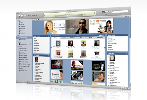 Apple iTunes top U.S. Music Retailer