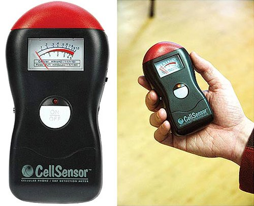 The cellphone EMF detector