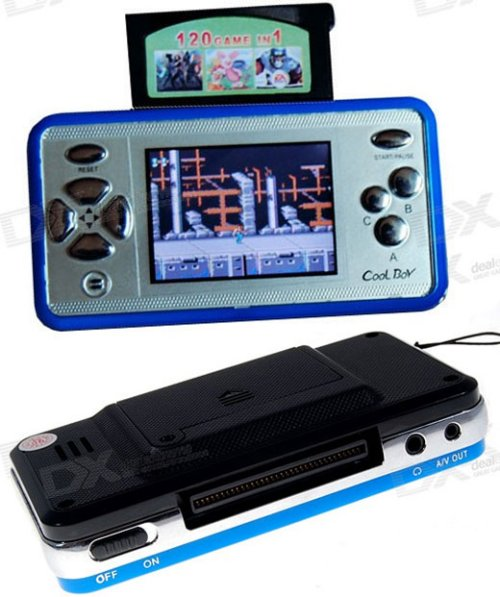 Cool Boy portable game console is uncool