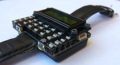 DIY uWatch: the scientific calculator wristwatch