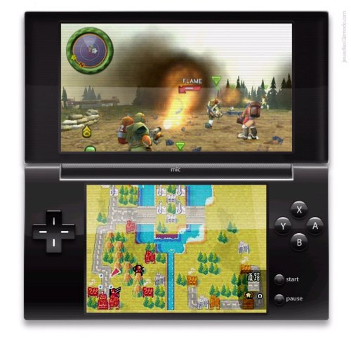 Nintendo DS 2 to be unveiled at E3 2008?