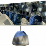 Touch Interactive DVD/display player concept has balls