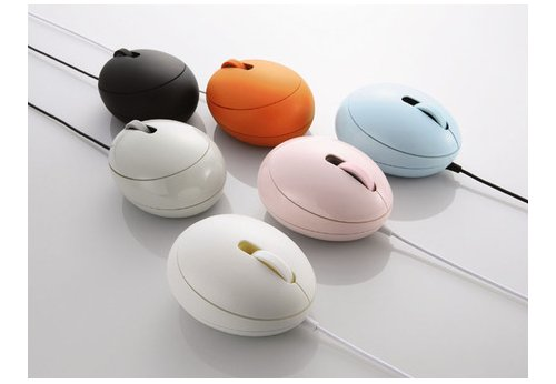 Elecom Egg Mouse gets more colors